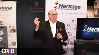 Heritage Parts Canada at The Canadian Restaurant & Bar Show 2018