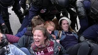 Extinction Rebellion : blocage devant l'Assemblée Nationale (12 octobre 2019, Paris)