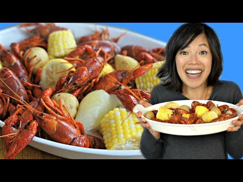 How To Cook Up A Cajun CRAWFISH BOIL & An Étouffée Recipe | Crayfish Prepared 2 Ways