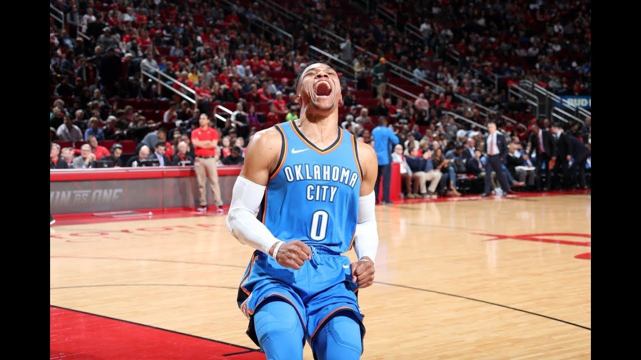 Russell Westbrook Shuts Down James Harden And Keeps Thunder Playoffs Alive!