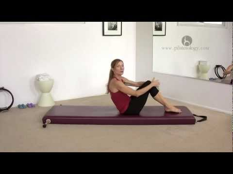 Pilates Rolling Like a Ball Exercise with Alisa Wyatt