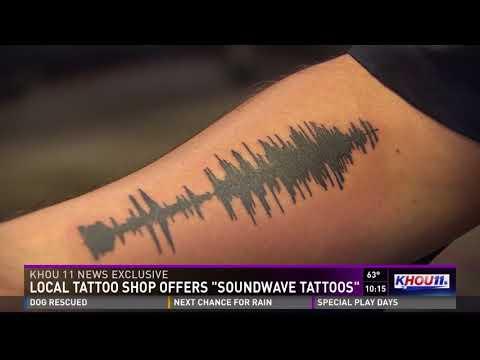 Local Tattoo Shop Offers Soundwave Tattoos
