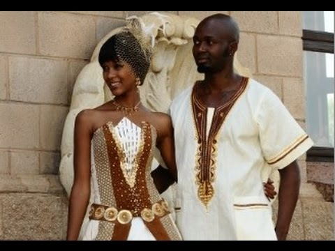 Traditional Wedding Gowns South Africa - YouTube