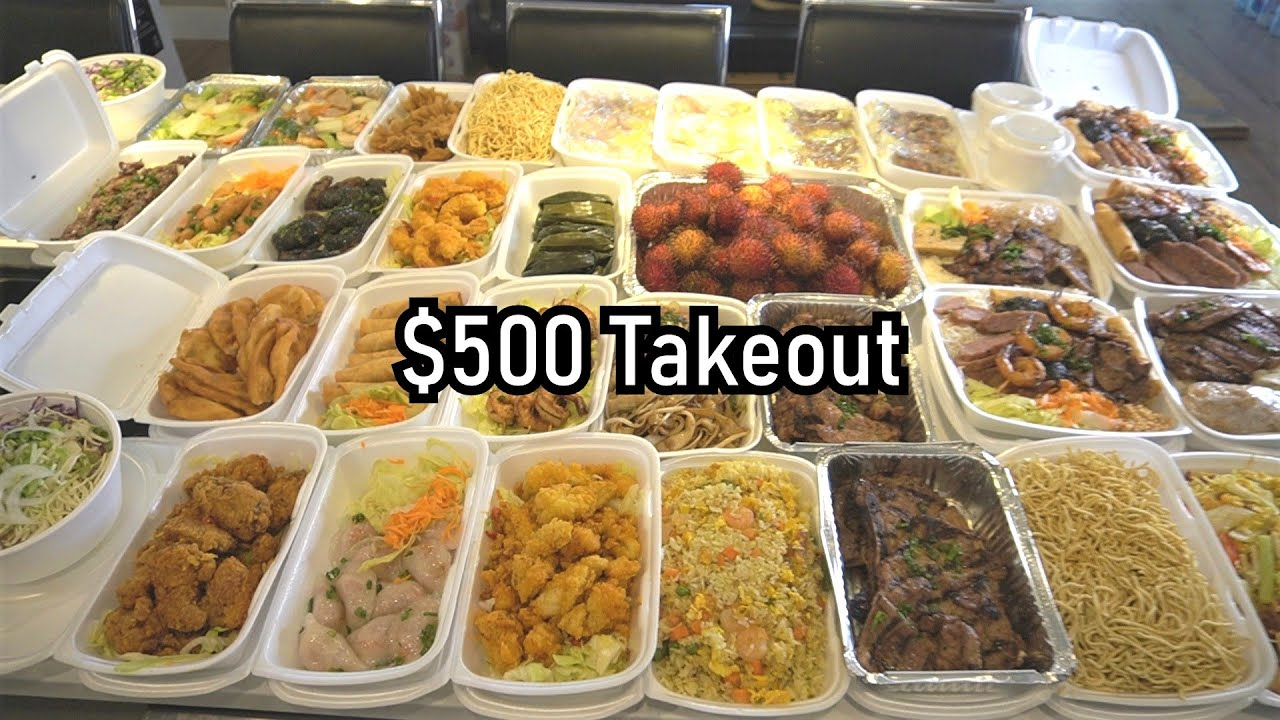 $500 Worth Of TAKEOUT