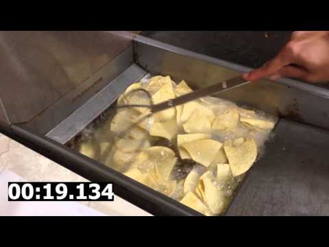 How to make crispy corn tortilla chips