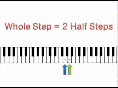 Half Steps and Whole Steps