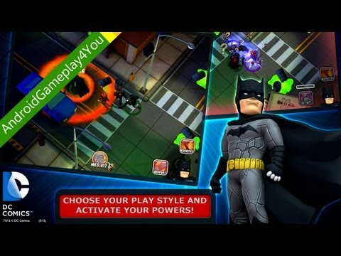 HeroClix TabApp Elite Android Game Gameplay [Game For Kids]