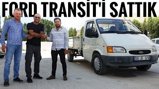 Ford Transit 190P'yi de sattık   24.900km'de   Tozlu Garaj