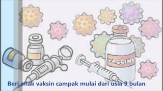 video imunisasi campak