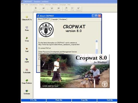 cropwat for windows