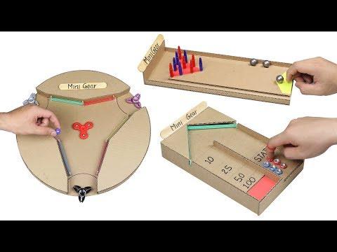 Wow! 3 Amazing DIY Desktop from Cardboard