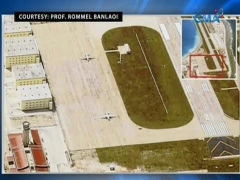 Saksi: 2 military transport plane ng China, nag-landing sa Panganiban Reef