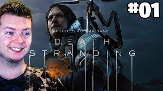 DEATH STRANDING #01 - Symulator Kuriera! | Vertez