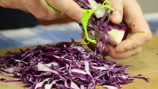 Новинка. Ленивый салат с секретом. Теперь салат из капусты вы будете готовить только так!