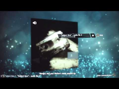 Assassin's Creed 4: Black Flag-Subject Zero Audio Files 1-5