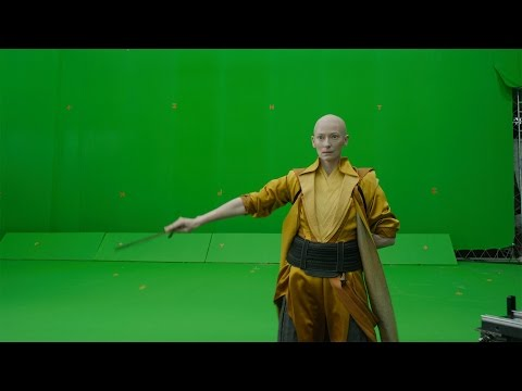 """""""Doctor Strange"""" before visual effects by """"Insider"""""""