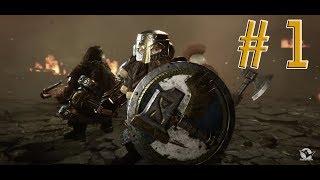 Warhammer: Vermintide 2. Отважный гном. Сложность: Ветеран. Акт 1. Часть 1.