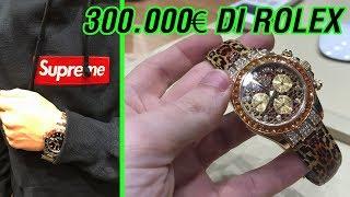Ho unito ROLEX e SUPREME - 300mila euro di orologi di lusso!