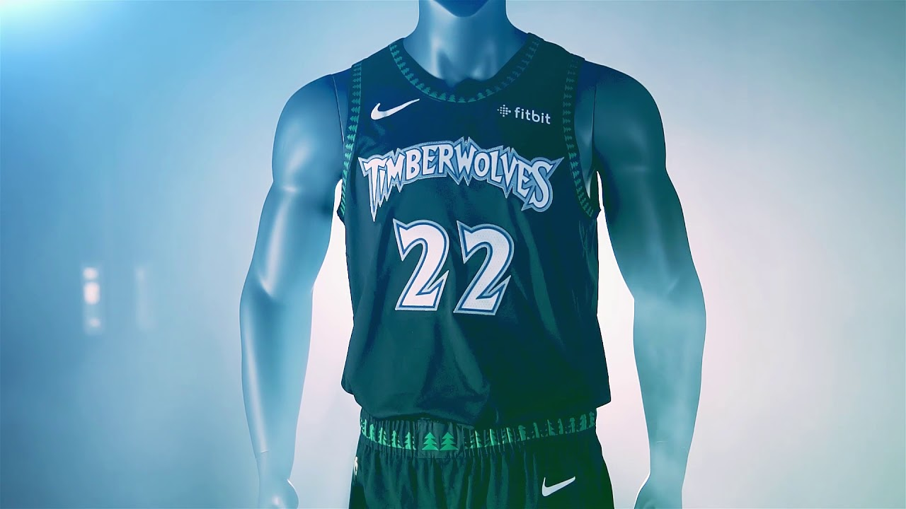 Timberwolves Unveil Classics Edition Uniforms - YouTube 10e1d4b7a