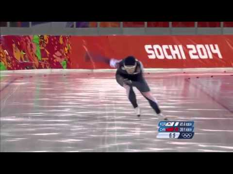 Speed Skating Record Sang Hwa Lee