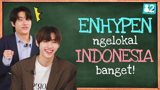(CC) ENHYPEN Sounds Just Like Your Indonesian Crush | Tongue Twister