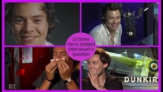 10 times Harry dodged interviewer's question