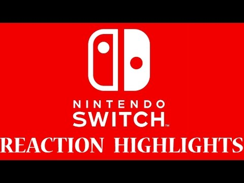 Nintendo Switch Presentation Reaction Highlights Ft. RustyGoomba And Sambammers