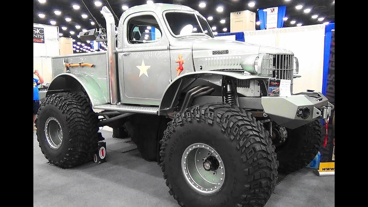 "Dodge Power Wagon For Sale >> 1941 Dodge Pickup ""Sgt Rock"" NSRA Street Rod Nationals 2015 - YouTube"