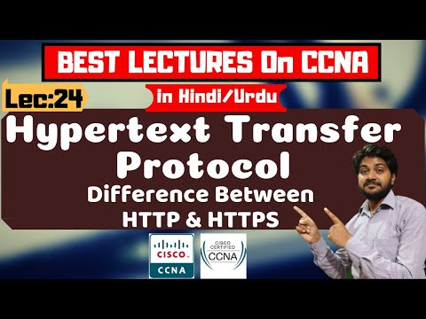 What Is HTTP And HTTPS-Hindi/Urdu | HTTP V/s HTTPS | Hypertext Transfer Protocol | CCNA Lectures