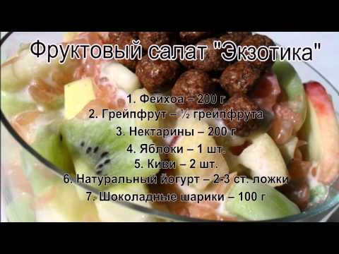 Фруктовый салат рецепт фото