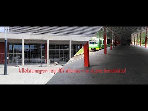 A Békásmegyeri régi Hév állomás + az új piac bemutatása!  Online Fm's Road Show #4  from YouTube · Duration:  29 minutes 20 seconds