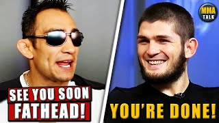 Tony Ferguson RESPONDS after Khabib suggest he's 'finished', Cormier mocks Paulo Costa, Khamzat-Diaz