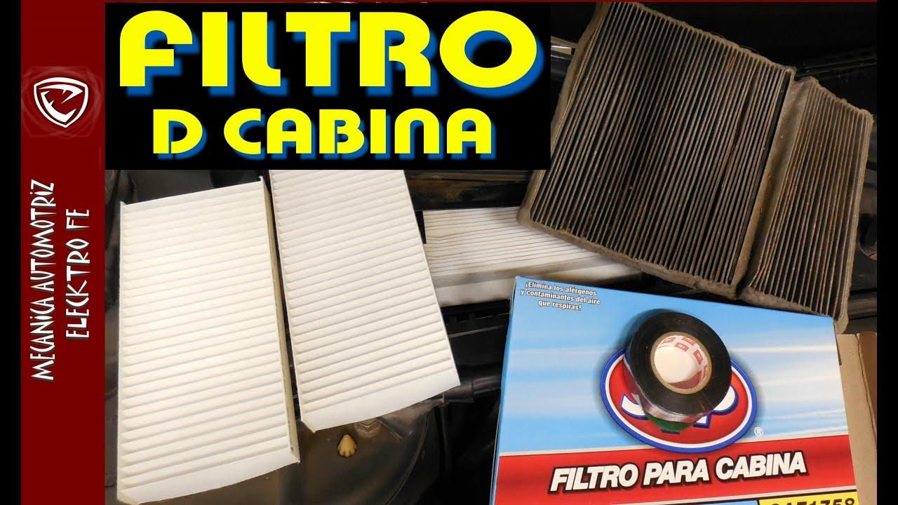 Cambios de filtros de aire de cabina y ubicaciones mas for Filtro cabina camaro 2016