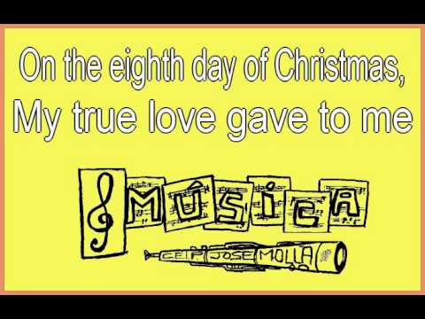 youtube 12 days of christmas instrumental songs