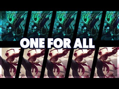 PENTAKILL RAGE | THRESH VS LEE SIN | ONE FOR ALL FULL GAMEPLAY - BunnyFuFuu