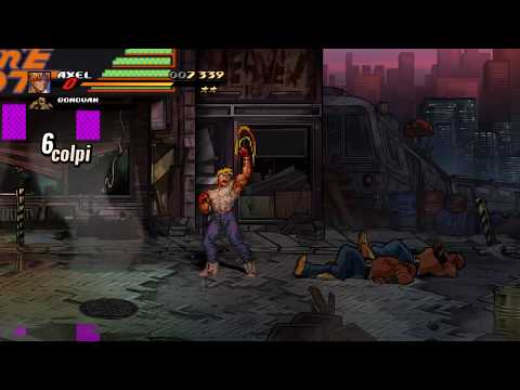 Streets Of Rage 4 - Stage 1 Mania Difficulty - First Try