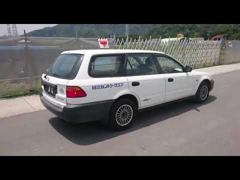 Видео-тест автомобиля Honda Partner (белый, EY8-1202467, D16A, 1999г.)