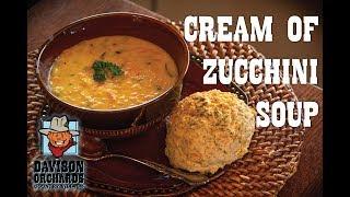 Family Recipes -- Cream of Zucchini Soup