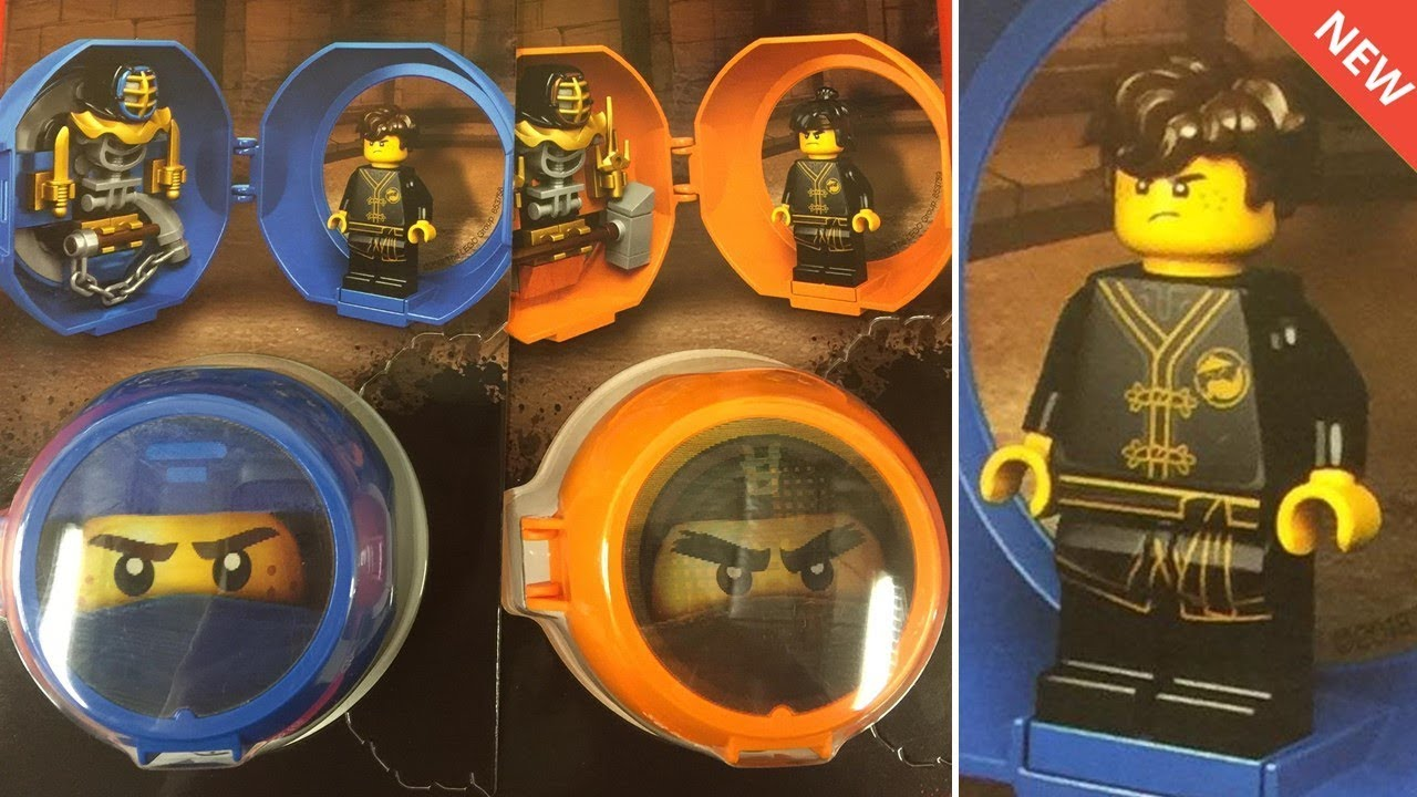 New LEGO Ninjago SoG Dojo Pod Sets & Training Suit Minifigures ...