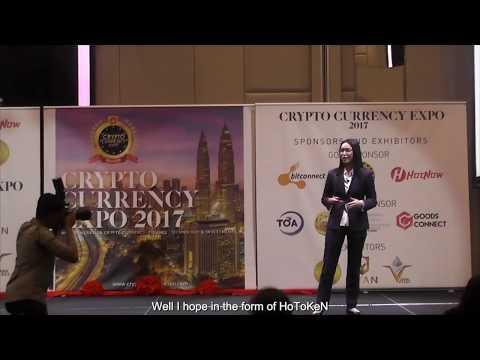 HoToKeN in Cryto Currency Expo 2017, Malaysia