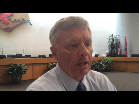 Knox County Commissioner Tony Norman talks teacher raises