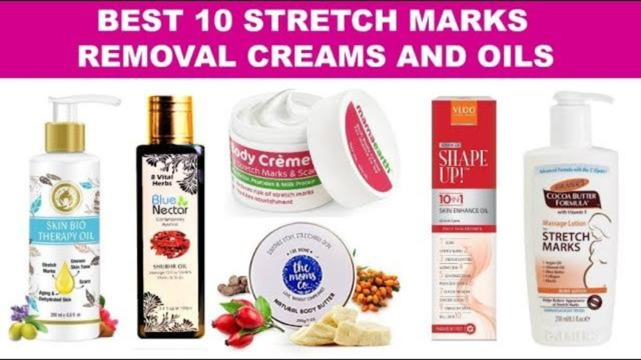 Stretch Mark Removal Cream And Oil In India With Price Best