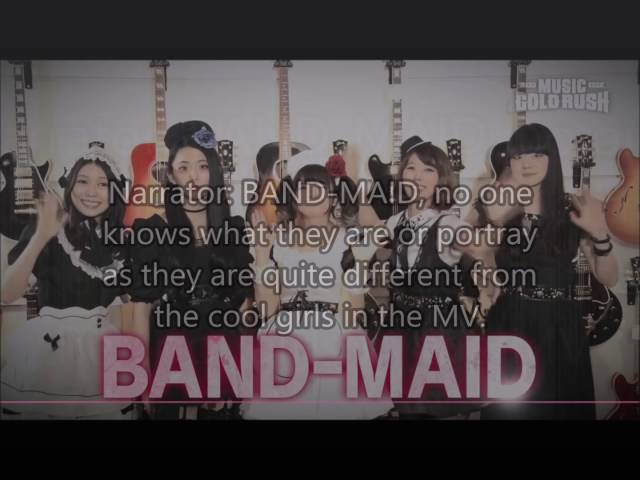 Music Gold Rush 73 Band Maid Part 1 Eng subs