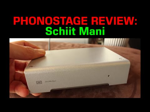 Schiit Mani phono: MM Excellent!
