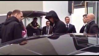 Реакция фанатов нa прибытие Криштиану Роналду в Цюрих
