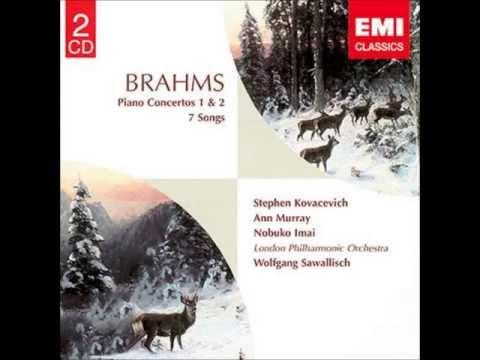Brahms Two Songs for Alto, viola, piano