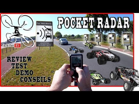 POCKET RADAR Review Test Démo / 5 voitures au banc d'essai !  Vérification des données constructeur.