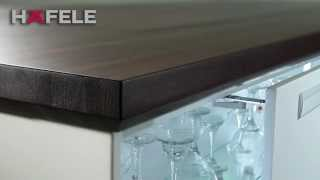 Hafele Frontino Sliding Cabinet Door Hardware