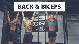 figcaption Bigger Back & Biceps Bodyweight ROUTINE (등과 이두 맨몸운동 루틴)