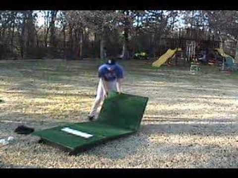 Portable Pitching Mound, Portable Pitchers Mound - YouTube